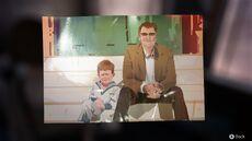 Nathan pressctoot dad and him