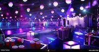 Blackwell Pool Vortex Club Party Concept Art by Gary Jamroz-Palma