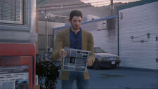 Newspaper-man