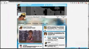 Victoria's social media page