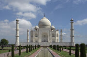 Taj Mahal before dissapearance