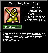 TauntingShout