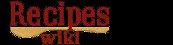 Recipes Wiki Wordmark