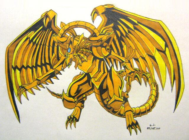 File:Winged Dragon of Ra by silana.jpg