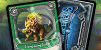 Stampeding Tusker