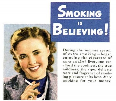 a description of false advertisements against cigarette consumers Get an answer for 'how does deception in advertising affect people behaviorally' and find homework help for other false advertising questions at enotes  finally banned cigarette advertisements .