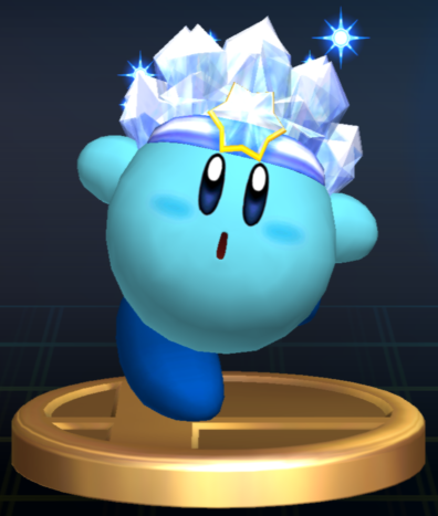 File:Ice Kirby - Brawl Trophy.png