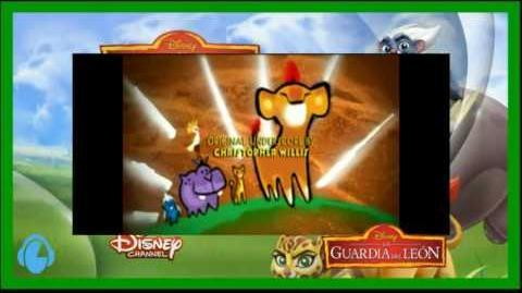 Here Comes The Lion Guard (Latin Spanish)