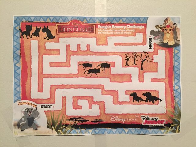 File:Lion guard bunga maze poster by friendshipfan1996-db3o2q1.jpg