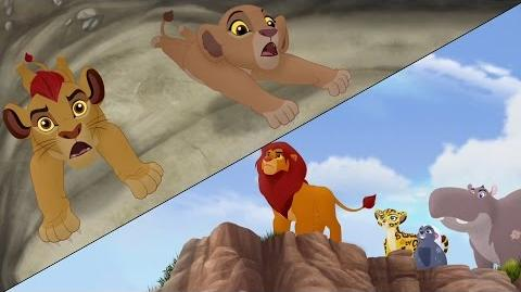 Searching for Udugu & Simba leads the Guard!