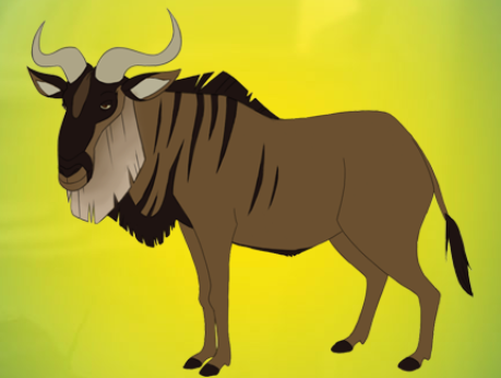 File:Wildebeest-p.png