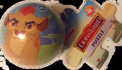 Puzzleball-orn
