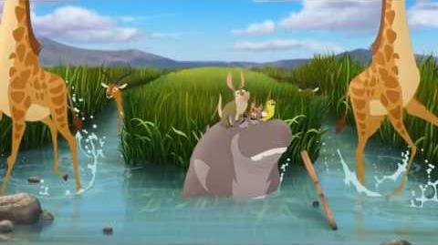 "The Lion Guard - ""Beshte and the Hippo Lanes"" второй рекламный ролик"