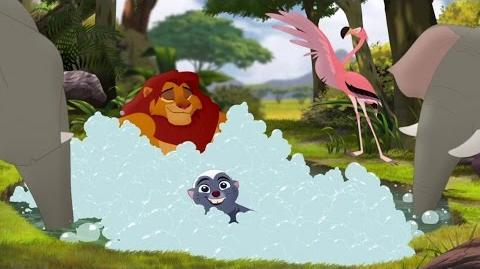 Lion Guard When You're Running with the King Song The Trail to Udugu HD Clip