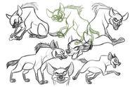 Banzai-sketches