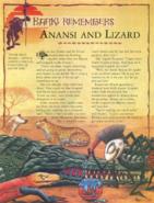 Anansi and Lizard 1