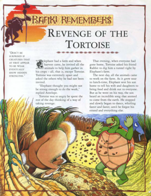 Revenge of the Tortoise 1