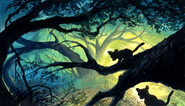 Simba&Nala&Tree