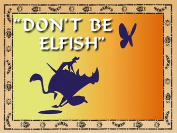 Don'tBeElfish