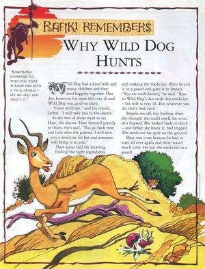 Why Wild Dog Hunts 1