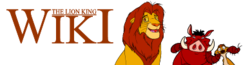 File:Lion King Wiki wordmark.png