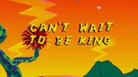 VGM014 Lion King - Can't Wait To Be King - SEGA Genesis