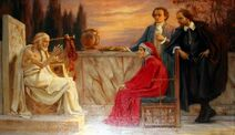 Homer and Dantea and Shakespearea and Goethe