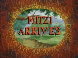 Mitzi Arrives
