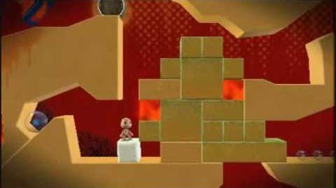 Little Big Planet Level 4 Golden Sands Part 1 Get the Hump - Sony PSP - DVDfeverGames