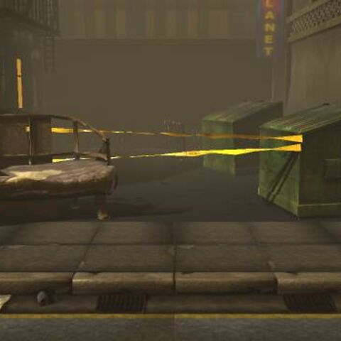 The background of The Metropolis in LittleBigPlanet