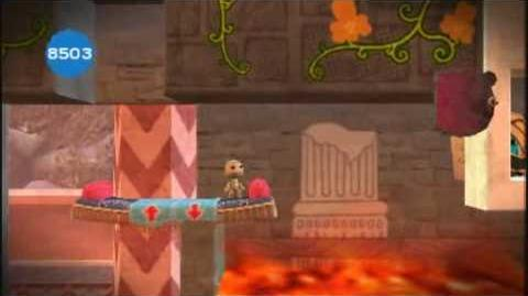 Little Big Planet Level 3 The Bazaar Part 4 Rugs and Kisses - Sony PSP - DVDfeverGames