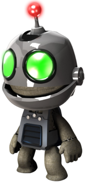 Clank Costume Side