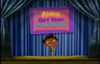 Annie, Get your Microphone Title Card