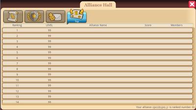 Alliance Hall - Top Tab