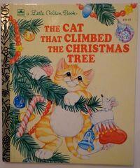 The Cat Who Climbed the Christmas Tree