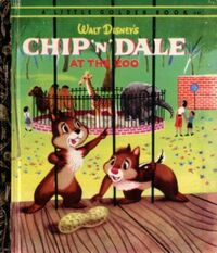 Chip N' Dale at the Zoo