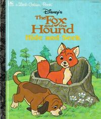 The Fox and the Hound Hide & Seek