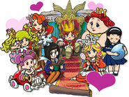 Princesses and Corobo Artwork