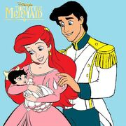 Ariel eric and baby melody