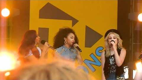 Little Mix - Wings (Live at T4 on the Beach 2012)