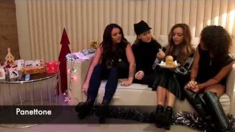 Little Mix Taste Italian Christmas Treats