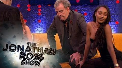 Jeremy Clarkson Twerks With Little Mix's Leigh-Anne Pinnock - The Jonathan Ross Show