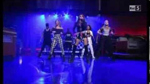 "Little Mix - ""Move"" Live @ David Letterman Show 10 03 14 SUB ITA"