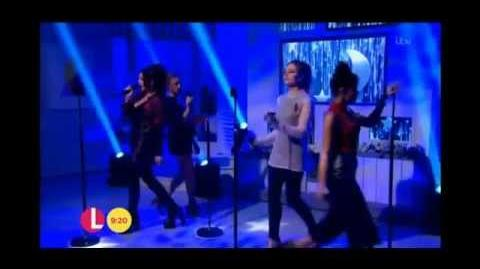 Little Mix - Love Me Like You on Lorraine (9 11 2015)