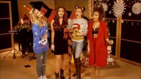 Little Mix - Christmas Cover Teaser..