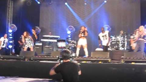 Girl Bands Mashup - Little Mix Wireless Festival 2013