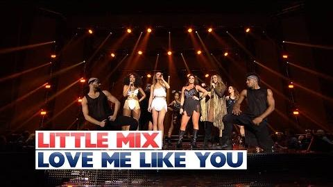 Little Mix - 'Love Me Like You' (Live At The Jingle Bell Ball 2015)