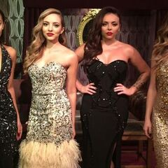 Little Mix at the 2015 Royal Variety Performance.