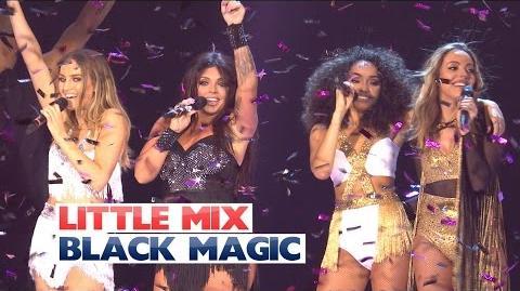 Little Mix - 'Black Magic' (Live At The Jingle Bell Ball 2015)