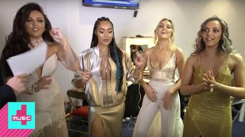 Little Mix Backstage & Excited to Perform The Brits 2016